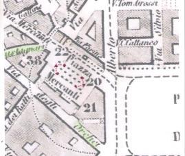 cartina piazza Mercanti