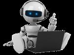 robot con pc