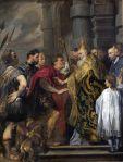 S.Ambrogio e Teodosio