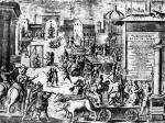 L'esecuzione di GG Mora e degli altri untori in Piazza alla Vetra