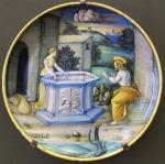 Casteldurante,_ciotola_con_gesù_e_la_samaritana_al_pozzo,_1520-30_ca