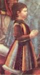 Cesare Sforza nella pala