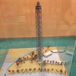 modellino Torre Branca