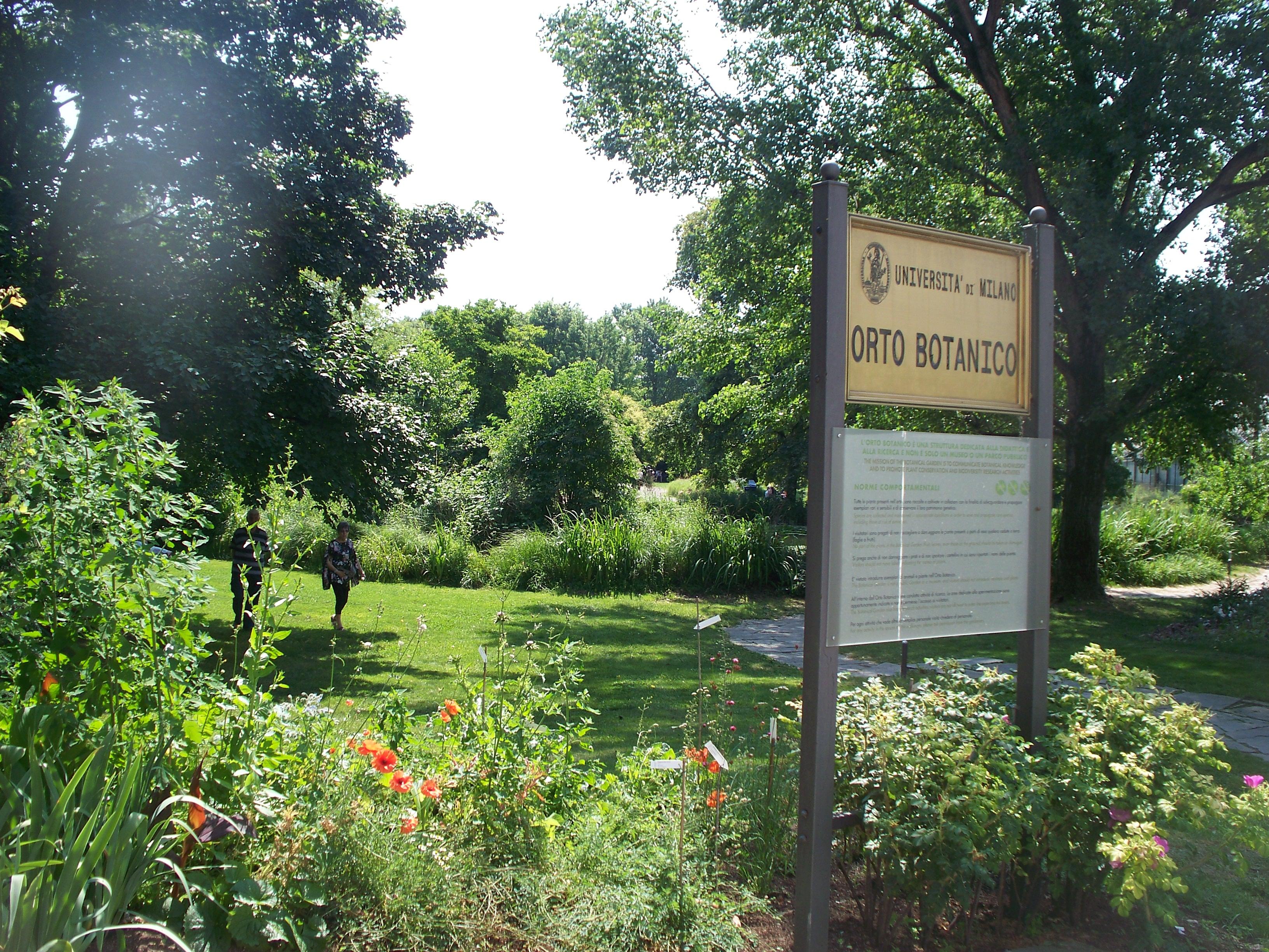 L orto botanico di città studi un giardino da e lode